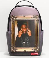 Sprayground x Tupac Golden Boy Luxury Designer Fashion School Backpack Bag