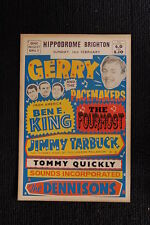 Gerry and the Pacemakers 1964 Tour Poster The Fourmost