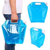 5L 10L Outdoor Collapsible Foldable Drinking Water Bag Car Water Carrier Eyeful