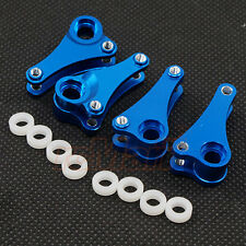 GPM Aluminum Rocker Arm Set Blue Traxxas 1:16 Summit VXL RC Cars Truck #MST027-B