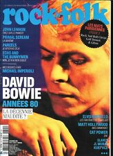 ROCK & FOLK 615--DAVID BOWIE/JOHN LENNON/ECHO & THE BUNNYMEN/IMPERIOLI