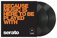 "SERATO 10"" PERFORMANCE SERIES (PAIR) SEALED - BECAUSE MUSIC IS HERE TO BE PLAYED"