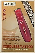 WAHL PROFESSIONAL  5-STAR CORDLESS TATTOO FINE-LINE TRIMMER #8491 MADE IN USA