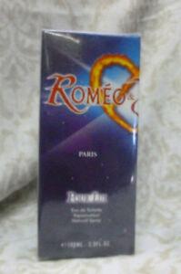 Roméo profumo eau de toilette ragazzo 100 ml spray nuovo Romeo fresco giovane