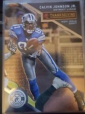 2013 Panini Totally Certified Thanksgiving Day #65 Calvin Johnson Jr NM-Mint