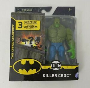 """The Caped Crusader Killer Croc 4"""" Action Figure with 3 Mystery Accessories"""