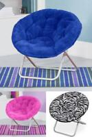 Oversized Moon Chair Seat Stool Saucer Soft Folding Living Room Sofa Many Colors