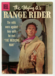 JERRY WEIST ESTATE: THE FLYING A'S RANGE RIDER #16 & 17 (FN-) (Dell 1957-58) NR