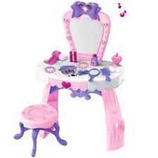 Schminktisch Frisiertisch Spielzeug für Mädchen Schminkkopf Spieltisch Girl rosa