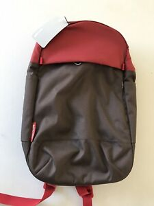 """Incase Campus Compact Backpack for up to MacBook Pro 15"""" - Brown Red New"""