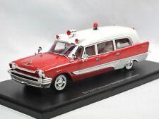 Autocult 12010 1957 DeSoto Firesweep Memphian Ambulance Ambulanz Memphis 1/43