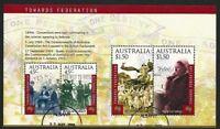 2000 Australia - Towards Federation Mini Sheet CTO Albany WA 6330