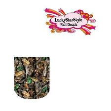 Waterslide Full Nail Decals Set of 10 - Realtree Camo Camouflage