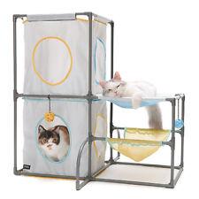 Brand New Sport Pet Cats Fun Playground Play Center Tower Cat Kitten Toy 0075