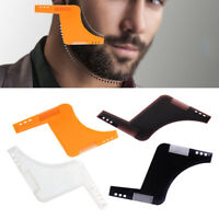 Beard Shaping Template Comb Guide Line Up Hair Styling Shave Grooming Tool Men
