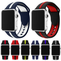 Silicone Wrist Strap Band Bracelet Replacement iWatch 3 For Apple Watch 42mm