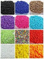 1000 Glasperlen zum Fädeln Rondelle Spacer Beads zum Basteln DIY Farbwahl 2mm