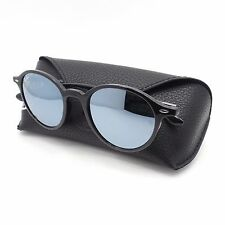 AUTHENTIC Ray Ban Tech 4237 601/30 Black Silver Mirror Sunglasses rl New