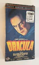 NEW Dracula VHS 1999 Horror Universal Monster Bela Lugosi Tod Browning SEALED