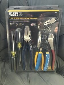 Klein Tools 94126 6-Piece Apprentice Tool Set for Trade Professionals - NEW