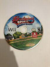 Backyard Sports: Sandlot Sluggers (Nintendo Wii ) Baseball Great Cond. Disc Only