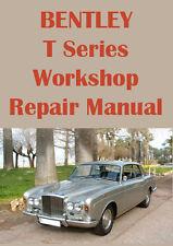 BENTLEY T Series WORKSHOP MANUAL: 1965-1976