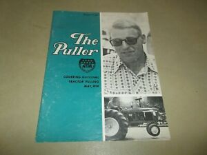 Vintage May 1974 The Puller Magazine NTPA Tractor Pulling Motorsports !