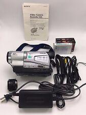 Sony Handycam CCD-TR818 8mm Video8 HI8 HI 8 Camcorder VCR Player Video Transfer