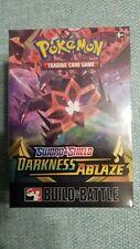 POKEMON TCG Sword and Shield Darkness Ablaze Build & Battle Box