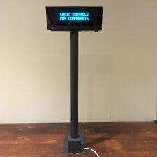 Logic Controls Ld9900-Gy Customer Pole Display Point Of Sale (8pin mini Din Cnx)