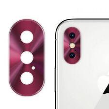 Protector Anillo Aluminio de Lente de Cámara Trasera para iPhone X iPhone X Plus