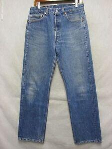 D3130 Levi's 501 USA Made Killer Fade Jeans Men 31x29