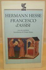 STORIA RELIGIONE BIOGRAFIA - Hermann Hesse: FRANCESCO d'ASSISI - Guanda 1994