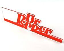 Dr. Pepper Cola USA Acrylglas 15 cm Logo Schriftzug