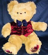 Vintage 1996 Harrods Christmas Bear