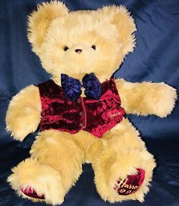 Vintage Limited Edition 1996 Harrods Christmas Bear Original