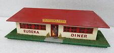 Vintage 1952 American Flyer Gilbert Eureka Diner Building Wood Postwar CLEAN