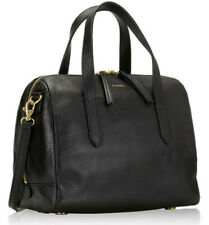 Fossil Sydney Satchel Crossbody Black Leather Bag SHB1978001 NWT $178 MSRP