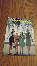 VINTAGE GIRL SCOUT CATALOG FALL1964-SPRING 1965
