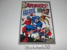 Avengers #4 JC Penney Reprint Comic Marvel 1993 1st Silver Age Captain America