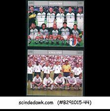 TAJIKISTAN - 2000 EURO 2000 / EUROPENA FOOTBALL CHAMPIONSIP MIN/SHT MNH 6nos