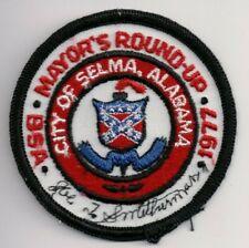 BSA, Tukabatchee Area Council, Montgomery Alabama, Selma District 1977 Patch