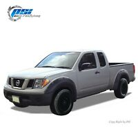 "Paintable Pop-Out Bolt Fender Flares Fits Nissan Frontier 06-14 ; 73.3"" Bed Only"