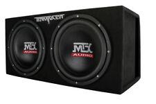 "MTX Terminator TNE212DV 1000 Watt RMS Dual 12"" Subwoofers + Vented Sub Box"
