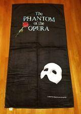 "New from 1988 Phantom Of the Opera Beach Towel Hilasal Rare 59 x 32"" Unused"