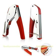 RJ45 RJ11 RG59/RG6 Coaxial Plier Network Cable Stripper Wire Crimper Cutter New
