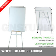60*90cm Magnetic Whiteboard Portable Stand Telescopic Tripod Flipchart Easel