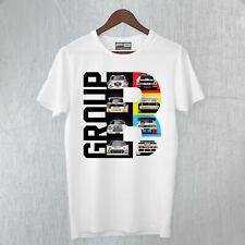 T-Shirt Rally Group B WRC Lancia Audi Peugeot Ford History World Rally Cars