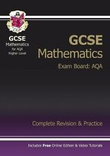 GCSE Maths AQA Complete Revision & Practice (with Online Edition) - Higher By C