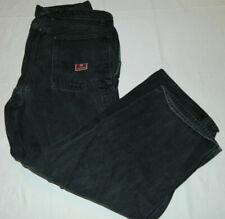 Tommy Hilfiger Men Red Label 38x32 Carpenter fit Black Jeans (Mea 38x30)